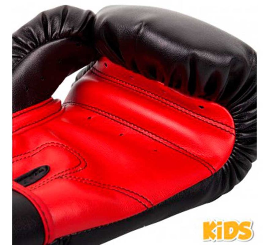 gants de boxe venum contender enfant noir rouge. Black Bedroom Furniture Sets. Home Design Ideas