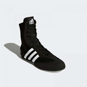 Chaussures de boxe Adidas Hog Box 2 New Noir