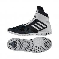 Chaussures de boxe Adidas Flying Impact black / white