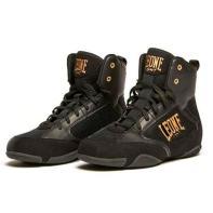 Chaussures de boxe Leone Premium CL110
