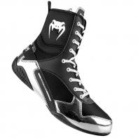 Chaussures De Boxe Venum Elite Black/Silver