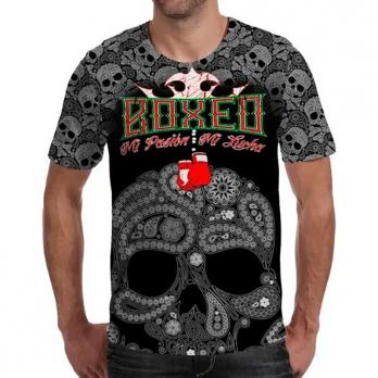 T-shirt  Buddha Mexican Boxing