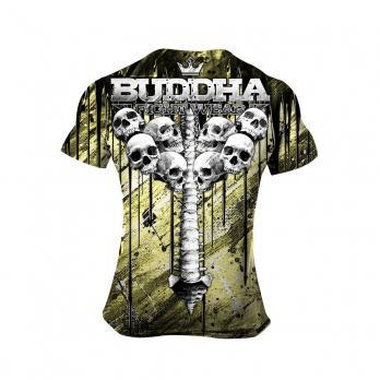 T-shirt  Buddha Skulls