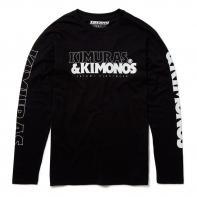 T-shirt Tatami Kimuras & Kimonos long sleeve black