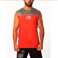 T-shirt Technique sans manches Leone Basic X Rouge