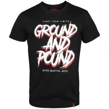T-shirt Venum Ground And Pound Noir