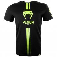 T-shirt  Venum Logos black/neo yellow