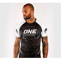 T-shirt Venum One FC Dry Tech™  white / black