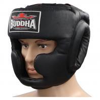 Casque boxe Buddha training Thailand black