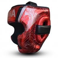 Casque de boxe Buddha Galaxy rouge