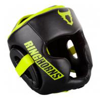 Casque boxe Ringhorns Charger  Noir Neo Yellow By Venum