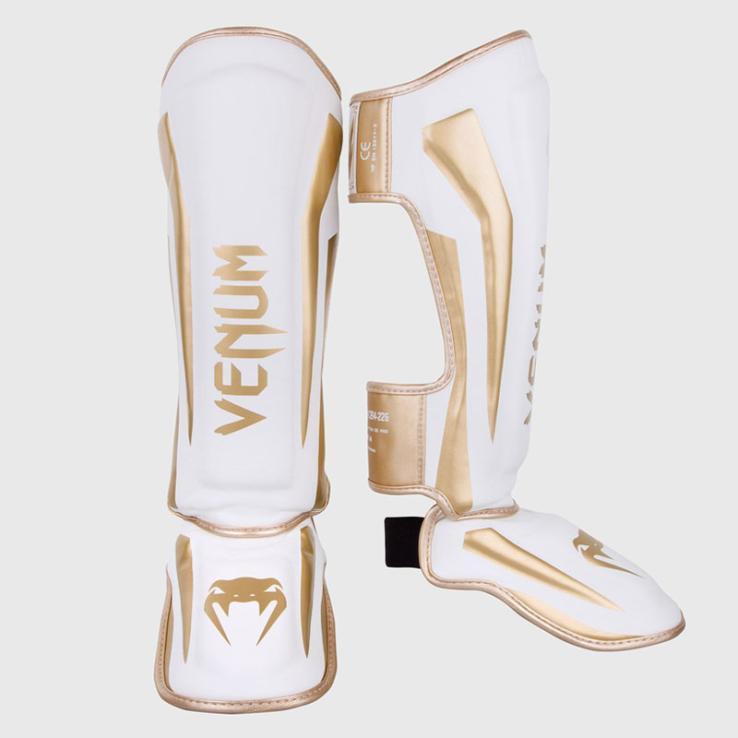 Protège TibiasVenum Elite White/Gold
