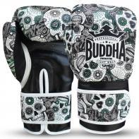 Gants de boxe Buddha Mexican noir