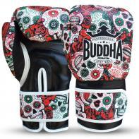 Gants de boxe Buddha rouge mexicain