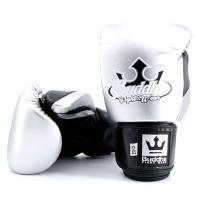 Gants de boxe Buddha Metallic silver/ noir