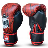 Gants de boxe Buddha Snake Rouge