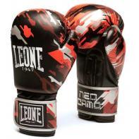 Gants de boxe Leone Neo Camo rouge