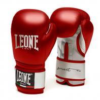 Gants de boxe Leone Smart rouge