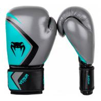 Gants de boxe Venum Contender 2.0 Grey/Turquoise-Black