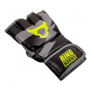 Gants de MMA Ringhorns Charger Black Neo Yellow By Venum