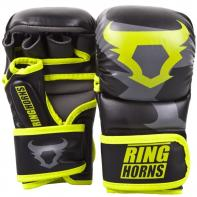 Gants de MMA Ringhorns  Charger Sparring Neo Yellow By Venum
