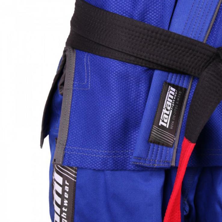 Kimono JJB Tatami Nova + Plus bleu   + ceinture blanc