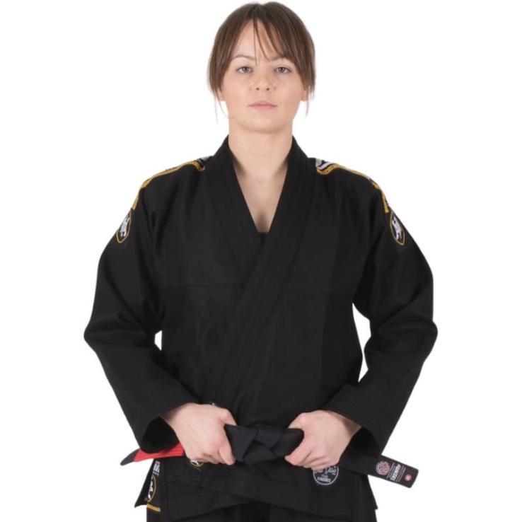 Kimono JJB Tatami Nova Absolute Ladies  Noir + Ceinture Blanc