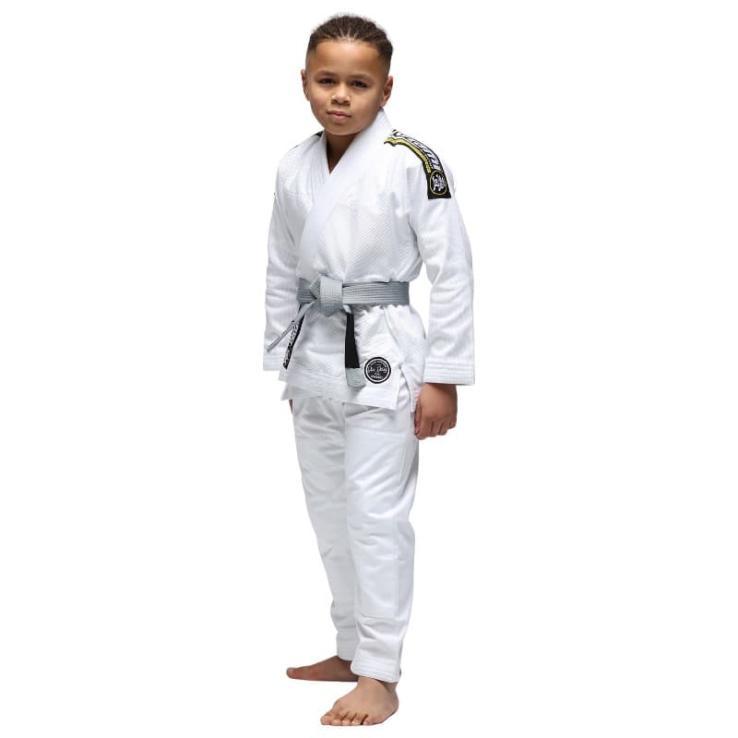 Kimono JJB Tatami Nova Absolute enfants Blanc  + Ceinture Blanc