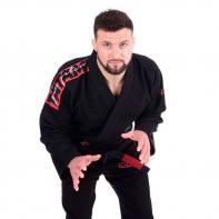Kimono JJB Tatami Red Bar noir