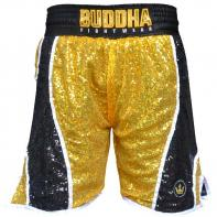 Shorts Boxe Buddha Fanatik golden