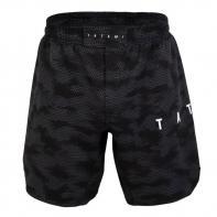 Short MMA Tatami Standard Edition Black Digital Camo Grapple Fit Shorts