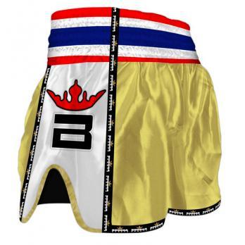 Short Muay Thai Buddha Retro Gold