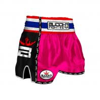 Short Muay Thai Buddha  Retro PInk  Enfants