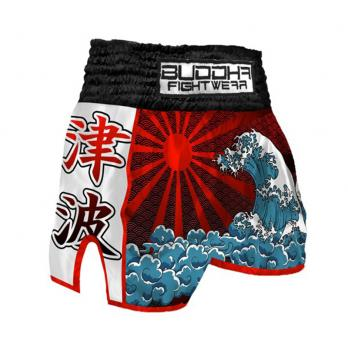 Short Muay Thai Buddha  Retro Tsunami Kids