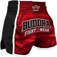 Short Muay Thai Buddha Retro X Rouge Kids