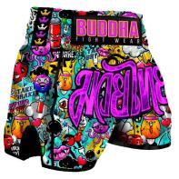 Short Muay Thai Buddha Zippy Kids