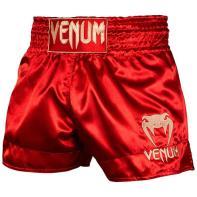 Short Muay Thai Venum Classic rouge