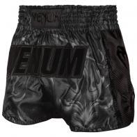 Short Muay Thai Venum Devil black matte