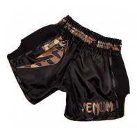 Short Muay Thai Venum Giant  black Forest Camo