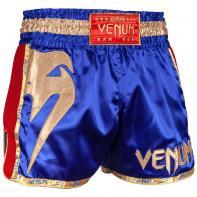 Short Muay Thai Venum Giant bleu