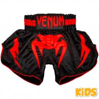 Short Muay Thai Venum Inferno Red Devil Kids