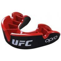 Protège dent boxe Opro Silver black / red  UFC