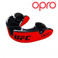 Protège dent boxe Opro Silver Red/Black UFC