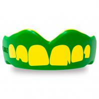 Protège Dent Boxe SafeJawz Extro Series Self-Fit Ogre Vert jaune