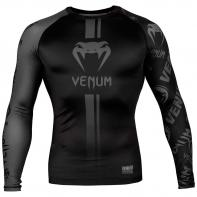 Rashguard Venum Logos l/s noir / noir