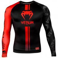 Rashguard Venum Logos l/s noir / rouge
