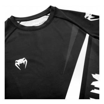 Rashguard Venum Contender 4.0 Noir / Gris-Blanc l / s