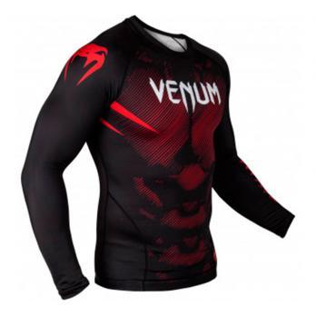 Rashguard Venum NOGI 2.0 Noir l/s