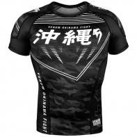 Rashguard Venum Okinawa 2.0 Noir / Blanc