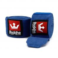 Bandes de boxe Bleu semi-élastique Buddha 4,5m